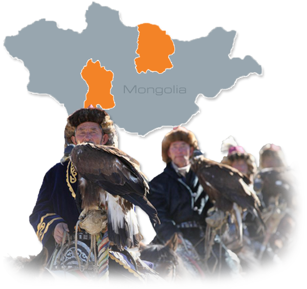 Mongolia Map Image