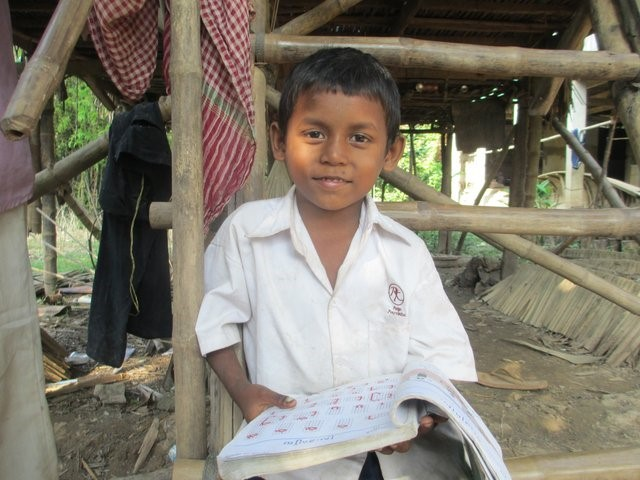 Rachhan, one of Cambodia's Children